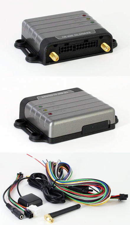 GlobalSat TR-606 AVL Tracker (GPS/GLONASS/GSM, Motion-Sensor, Multiple I/O, SMS/TCP/UDP/HTTP)